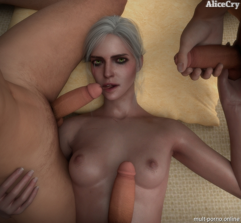 A compilation of sex scenes with CRIS (the Witcher) (+porn comics)