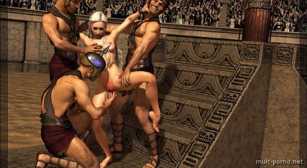 Daenerys sex scenes compilation (Game of Thrones) (+porn comics)