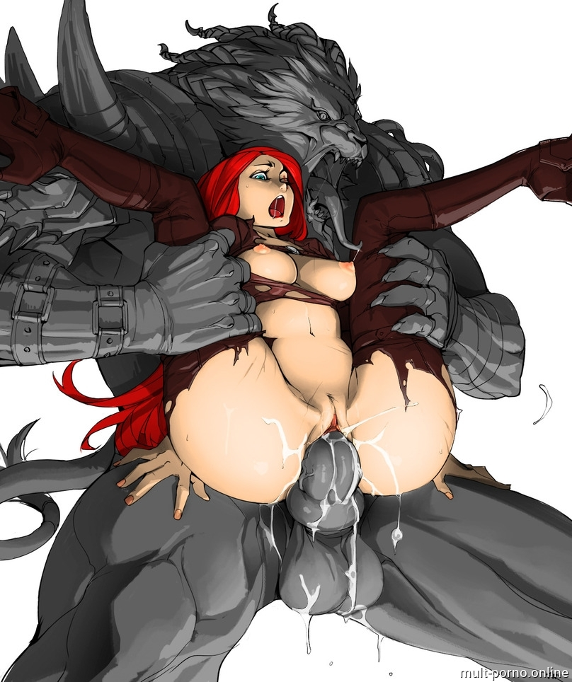 Hard ripped Katarina from League of Legends and abundant Creampie (+porn game and comics)