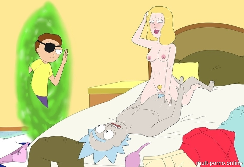 Morty and Rick fucking isatou Beth Smith (Rick and Morty) (+porn game and comics)