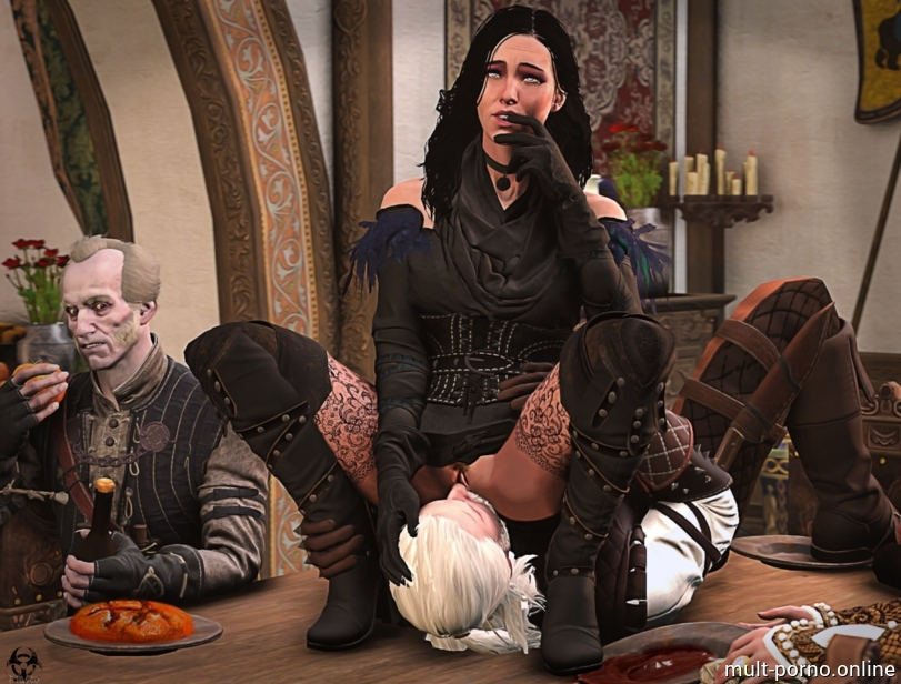 Compilation sex, Jennifer with monsters and Geralt (the Witcher) (+porn comics)